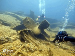 Diving on Korcula Island